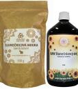 RAW slunečnicový olej 1 litr + slunečnicová mouka zdarma