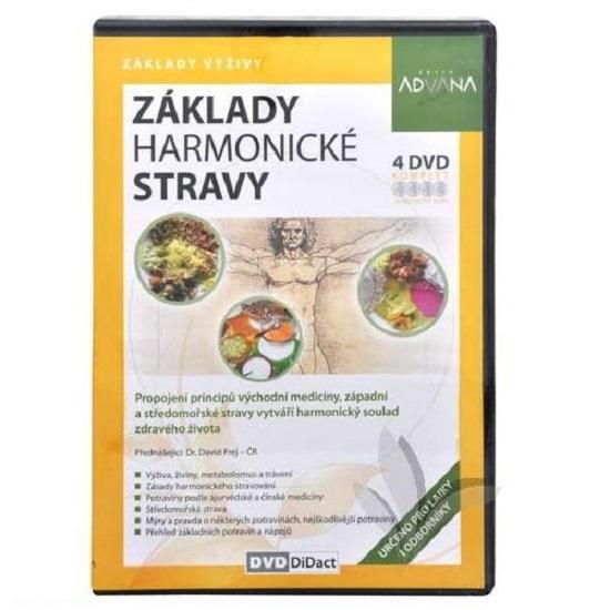 22f0f877192 4 DVD Základy harmonické stravy