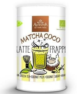 Bio Matcha coco latte frappe 220 g