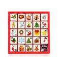 ETS Adventní kalendář Vánoční ozdoby