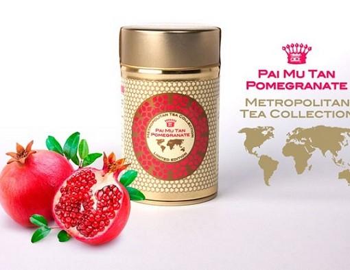Metropolitan sypaný čaj Pai Mu Tan s granátovým jablkem 60 g