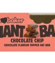 Obří ovesná tyčinka čokoláda s čokoládou