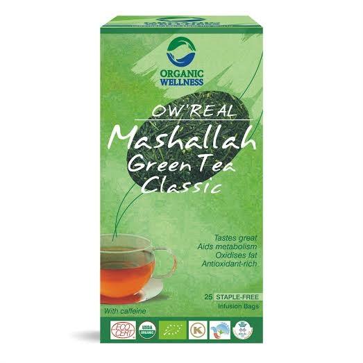 BIO Tulsi Zelený čaj Mashallah 25 sáčků